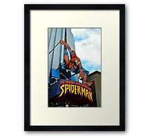 The Amazing Adventures of Spider-Man Framed Print