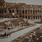 Coliseum ca. 1860 by hans p olsen