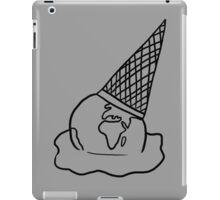 See Through Melting Ice Cream/Earth iPad Case/Skin