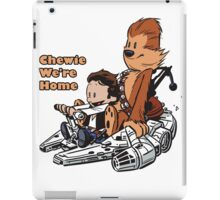 Chewie And Han Calvin And Hobbes iPad Case/Skin