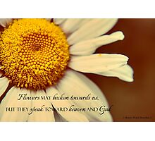 Speak Toward God Photographic Print
