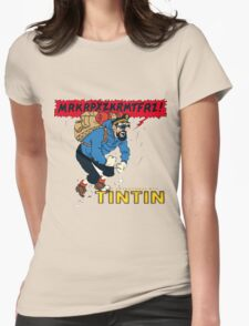 tintin_haddock Womens Fitted T-Shirt