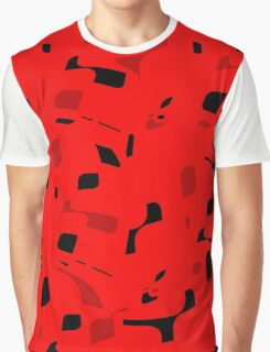 Red decorative abstraction Graphic T-Shirt