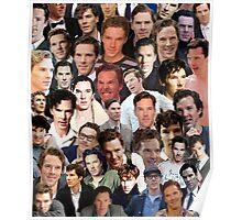 benedict cumberbatch collage Poster
