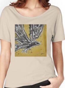 First Flight original painting Women's Relaxed Fit T-Shirt