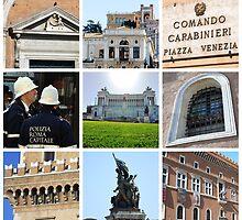 Piazza Venetia in Rome by bbgon