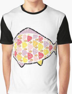 Grunge fish. Graphic T-Shirt