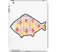 Grunge fish. iPad Case/Skin