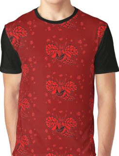 CatFly in red Graphic T-Shirt