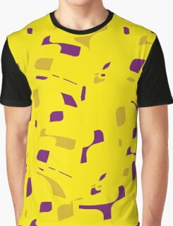 Yellow decorative abstraction Graphic T-Shirt