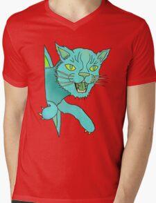 MeoW! Mens V-Neck T-Shirt