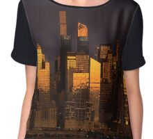 Midtown NYC Chiffon Top