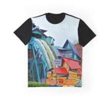 Dudley Do-Right's Rip-Saw Falls Graphic T-Shirt