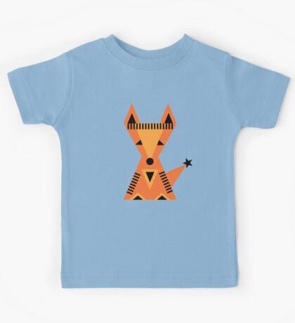 Little Fox, foxy, animal, autumn, forest, wild Kids Tee