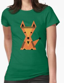 Little Fox, foxy, animal, autumn, forest, wild Womens Fitted T-Shirt