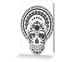 The day of the Dead. Greeting Card