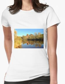 Cathedral Rock Sedona Womens Fitted T-Shirt