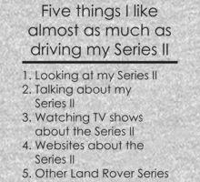 5 Things I Like - Series 2 Kids Tee