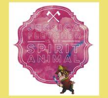 Jessica Fletcher is my Spirit Animal Kids Tee