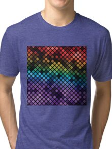 colorful abstract background Tri-blend T-Shirt