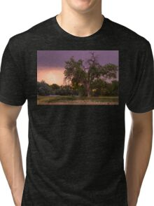 Thunderstorm In The Woods Tri-blend T-Shirt