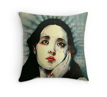 You should never be ashamed of your tears.  Throw Pillow