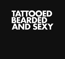 Tattooed bearded and Sexy Unisex T-Shirt