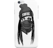 Swag skull. iPhone Case/Skin
