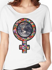 Girl World: Your Mind Is Greater Than Any Weapon Women's Relaxed Fit T-Shirt