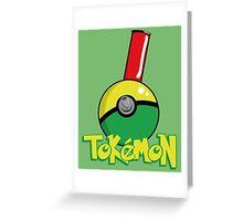 Tokemon GO Greeting Card