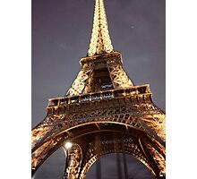 Under the Eifel Tower Photographic Print