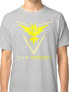 POKEMON GO TEAM INSTINCT, VALOR, MYSTIC T-SHIRT Classic T-Shirt