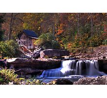 Grist Mill Photographic Print