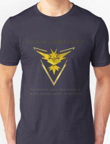 Pokemon Go! Team Instinct Unisex T-Shirt