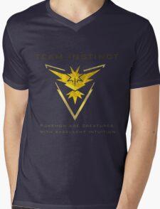 Pokemon Go! Team Instinct Mens V-Neck T-Shirt