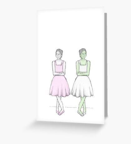 Two BEST Friends Greeting Card