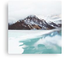 Canadian Mountains Canvas Print