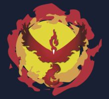 Team Valor and The Fire Within! One Piece - Long Sleeve