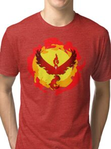 Team Valor and The Fire Within! Tri-blend T-Shirt