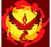 Team Valor and The Fire Within! Photographic Print
