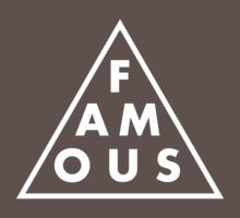 Famous - Cool Shirt One Piece - Short Sleeve