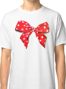 Red bow. Classic T-Shirt