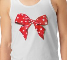Red bow. Tank Top