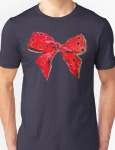 Red bow. Unisex T-Shirt