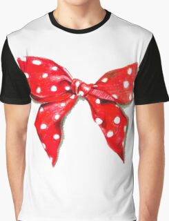 Red bow. Graphic T-Shirt
