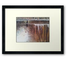 Amsterdam reflection Framed Print