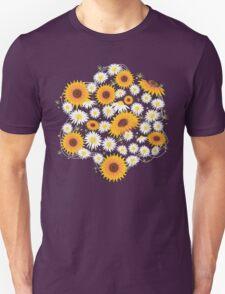 Sunflower Daisy Flower T-shirt Unisex T-Shirt