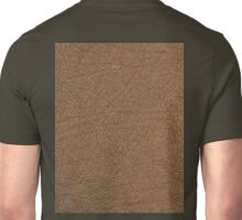 LEATHER LOOK, Leather, Antelope, Skin, Texture, Pattern Unisex T-Shirt