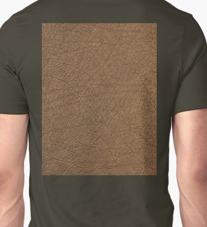 LEATHER LOOK, Leather, Antelope, Skin, Texture, Pattern, grain Unisex T-Shirt