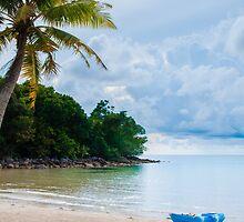 Beautiful tropical beach by Stanciuc